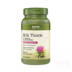 GNC Milk Thistle 牛奶薊1300MG 120粒