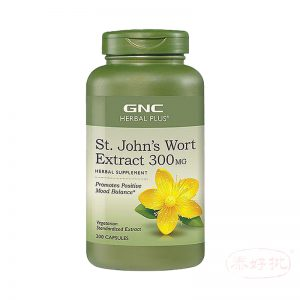 GNC Herbal Plus St. John's Wort Extract 300 mg 聖約翰草萃取 (200顆素食膠囊)