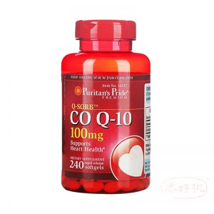 美國 Puritan's Pride Q-SORB™ Co Q-10 100 Mg 240 Softgels