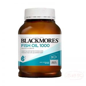 Blackmores Odourless Fish Oil 1000mg 400 Caps 無腥味魚油.